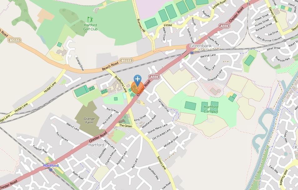 Hartford Village Hall Location Map